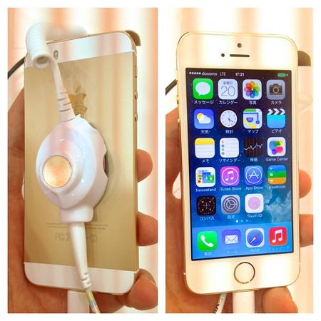 iPhone 5s ゴールドモデル - 4