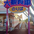 写真: 愛・地球博記念公園:大観覧車の乗り場へと続く入口