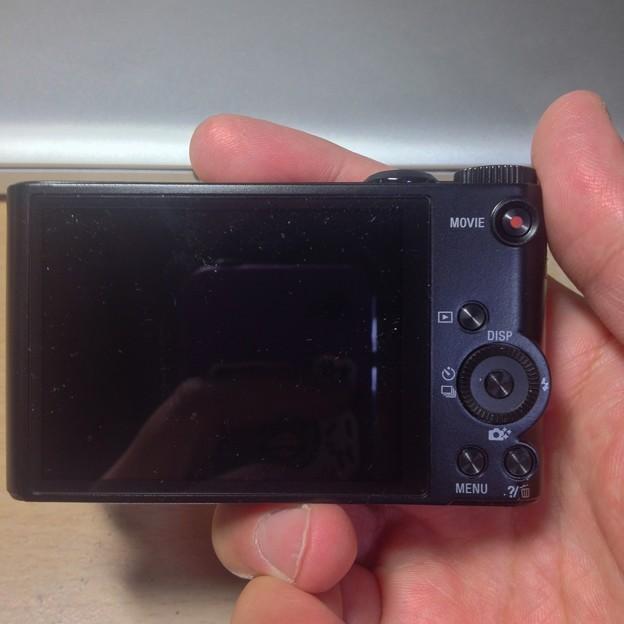 SONY DSC-WX300:本体 - 09(背面)