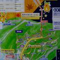 写真: 東山動植物園 紅葉ライトアップ 2013 No - 126:パンフレットの案内図