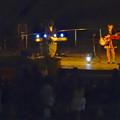 写真: スカイビュートレイン「植物園駅」から見たコンサート - 2