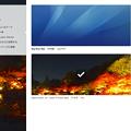 写真: Opera Next 19:自作テーマやダウンロードしたテーマを表示する「マイテーマ」