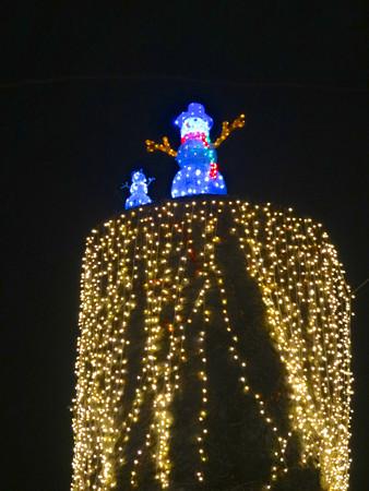 ノリタケの森のクリスマスイルミネーション 2013 No - 42:スノーマン