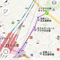 Photos: Yahoo!地図 4.0.0:距離が計測可能に!