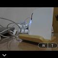 写真: PlayMemories Mobile 4.0.1:右下に新たに撮影済写真を表示するボタン(機能)