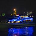 写真: クリスマス名古屋港花火観覧クルーズの船? No - 1