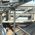 写真: スカイボートから見た景色 No - 124:観覧車の軸(側面)