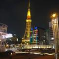 写真: オアシス21から見た、夜の名古屋テレビ塔 - 04