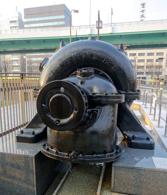 堀留水処理センター No - 11:みちのく式渦巻ポンプ