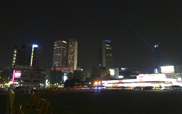 写真: 夜の名駅ビル群 - 1