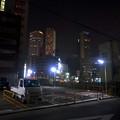 写真: 夜の名駅ビル群 - 2