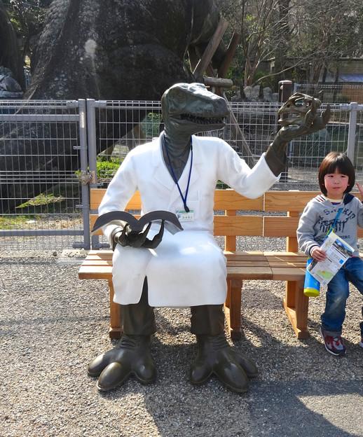 東山動植物園 春まつり 2014:福井県立恐竜博物館のPRブース - 06