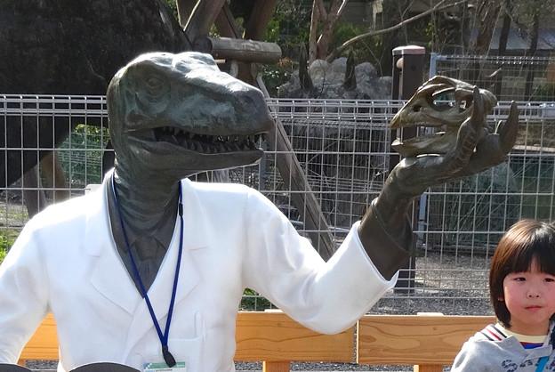 東山動植物園 春まつり 2014:福井県立恐竜博物館のPRブース - 07