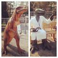 Photos: 東山動植物園 春まつり 2014:福井県立恐竜博物館のPRブース - 14