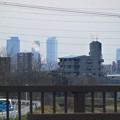 写真: 春日井東部から見えた名駅ビル群 - 1