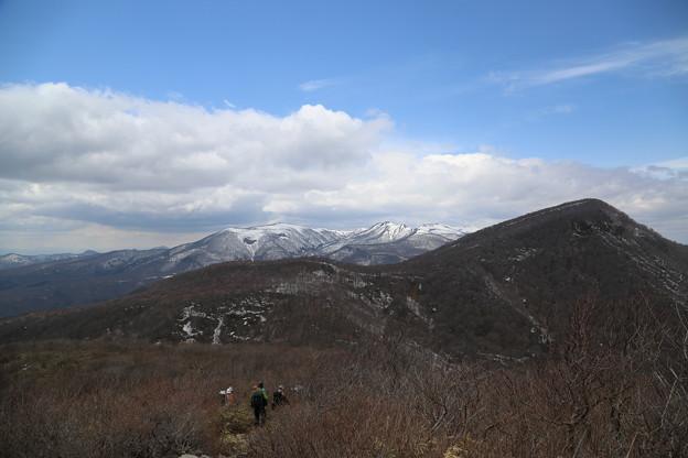 北泉ヶ岳と船形山方面