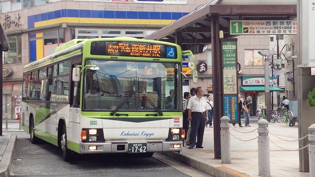 8104号車 [赤23]西新井駅 ゆき