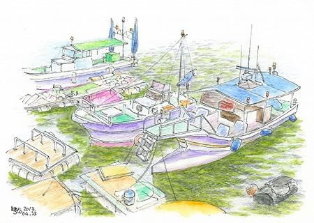 20130423尾道の釣船