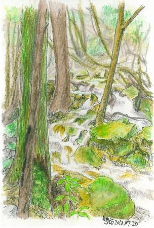 20130720白木の小さな滝