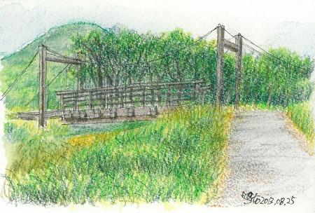 20130825長者原の吊橋