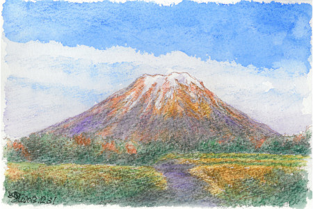 20131231伯耆富士