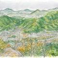 Photos: 20140219松笠山と二ケ城山