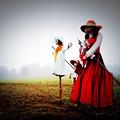 Photos: Mysterious Scarecrow