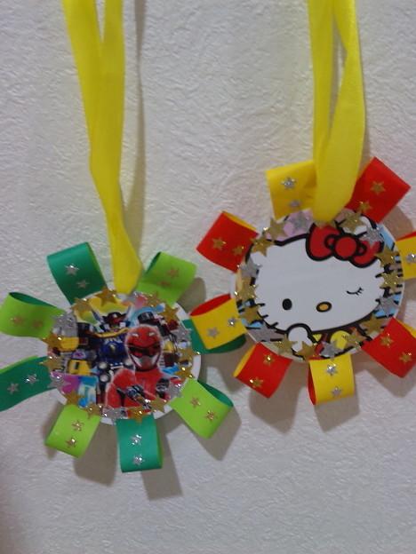 すべての折り紙 折り紙メダルの作り方 : メダルの作り方・折り紙メダル ...