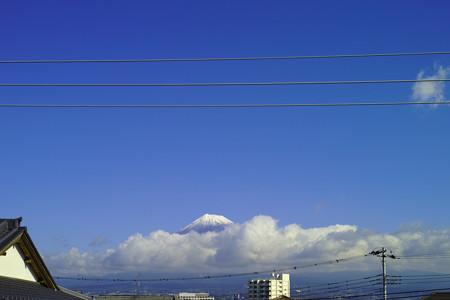 シグマブルーな富士山
