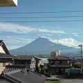 写真: 6月22日富士山
