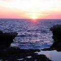 マルタ島(ゴゾ島の夕日)