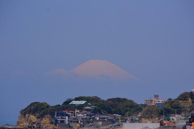 七里ヶ浜からの富士山 #湘南 #鎌倉 #mysky #海 #富士山 #fujisan #mtfuji