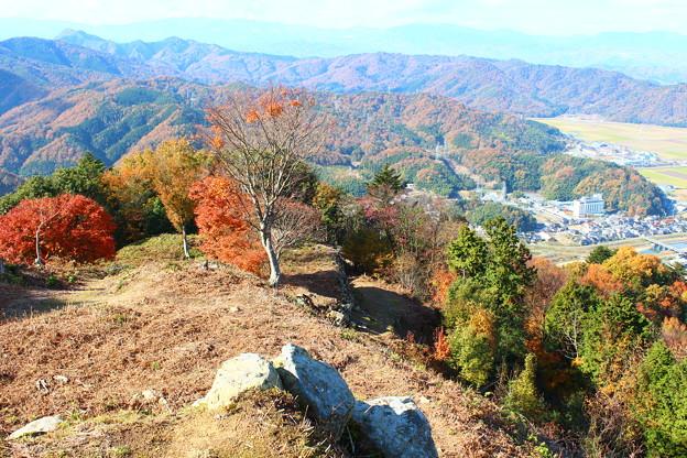 Photos: 有子山城
