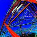 ♪大きな~赤い~塔の下で~~~♪.........