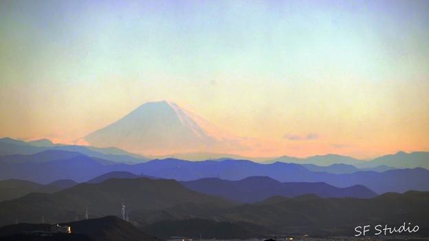 Photos: 三重から富士山の冠雪