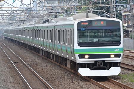 E231系0番台@松戸-金町間 [7/24]