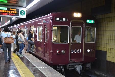 3300系@烏丸駅 [8/21]