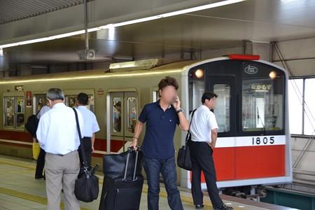 10系@新大阪駅 [8/23]