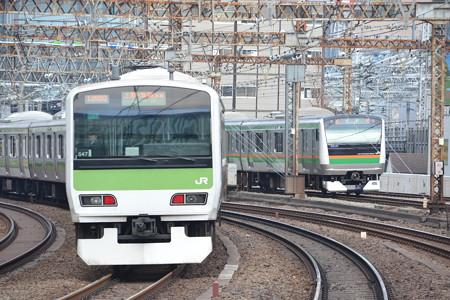 E231系500番台×E233系3000番台@有楽町 [2/14]