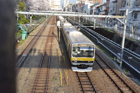 E231系0番台@東中野-中野 [3/28]