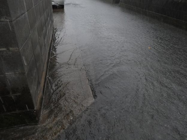 豪雨&川&冠水!