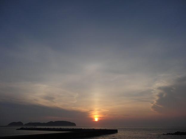 Photos: 太陽柱