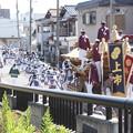 写真: 祭りの始まり