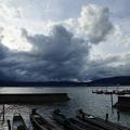 台風一過 2