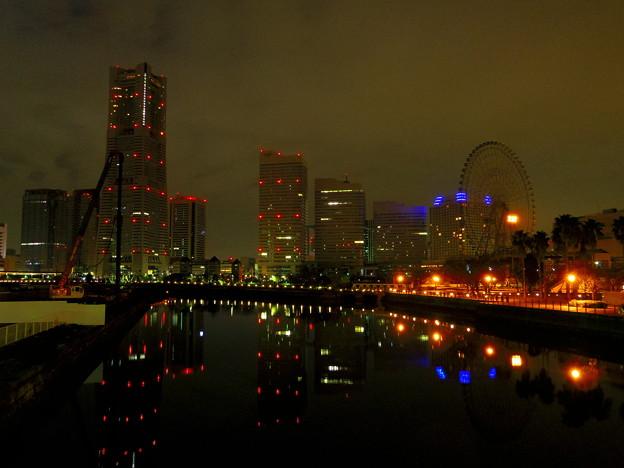 万国橋から。