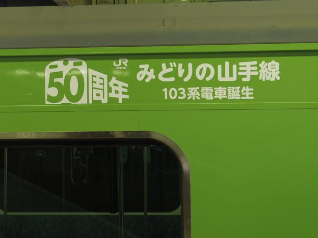 Photos: 記念ロゴ。