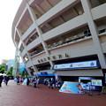 Photos: スタジアムの入り口。