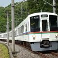 Photos: 西武線 秩父に向かって 奥武蔵路を行く