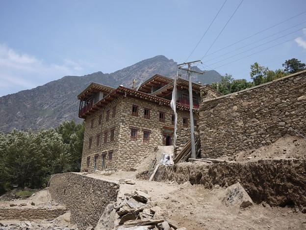 石造りの家屋