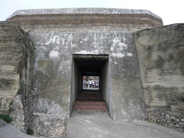 Photos: 山上の要塞跡